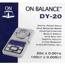 ON BALANCE DY20 - 20g x 0.001g