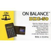 ON BALANCE DXC-50