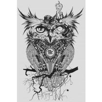 OWL PRINT - A3