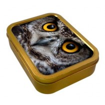 TOBACCO TIN 2oz - OWL