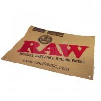 "RAW - CANVAS BANNER (23.5""x18"")"