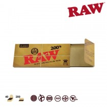 RAW KINGSIZE SLIM 200's