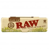 RAW - METAL PAPER TIN - KINGSIZE ORGANIC