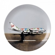 ROYAL DOULTON - NICK WALKER - 27cm PLATE - VANDAL AIRWAYS