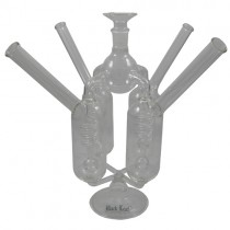 Black Leaf Duran Glass 4 Way Bong
