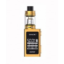 SMOK - QBOX KIT WITH TFV8 BABY TANK (GOLD)