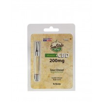SUN STATE - 200mg CBD CARTRIDGE (SOUR DIESEL)