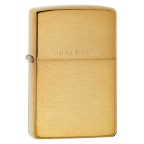 ZIPPO - BRUSH BRASS REGULAR (204)